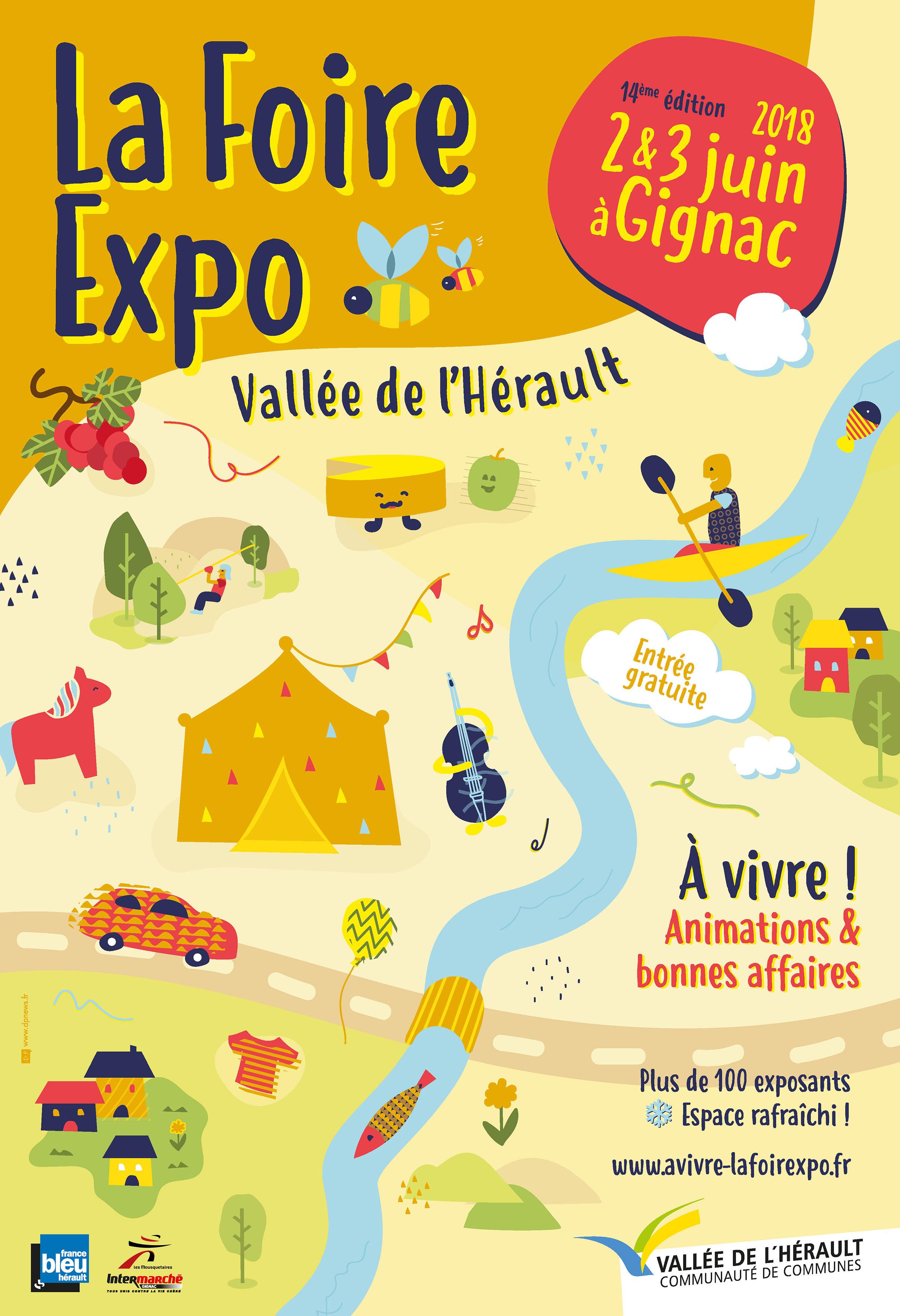 A VIVRE ! LA FOIRE-EXPO EN VALLÉE DE L'HÉRAULT