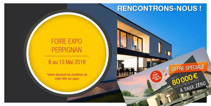 Foire Expo de Perpignan du 8 au 13 mai