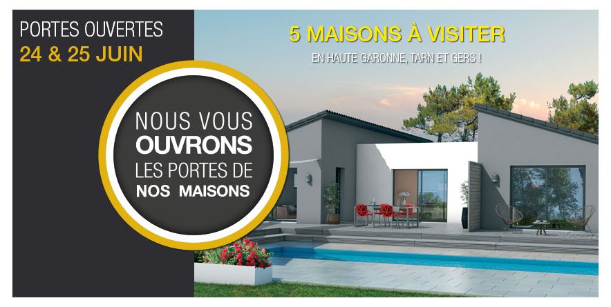 Portes Ouvertes Demeures d'Occitanie, 5 maisons à visiter les 24 & 25 juin !
