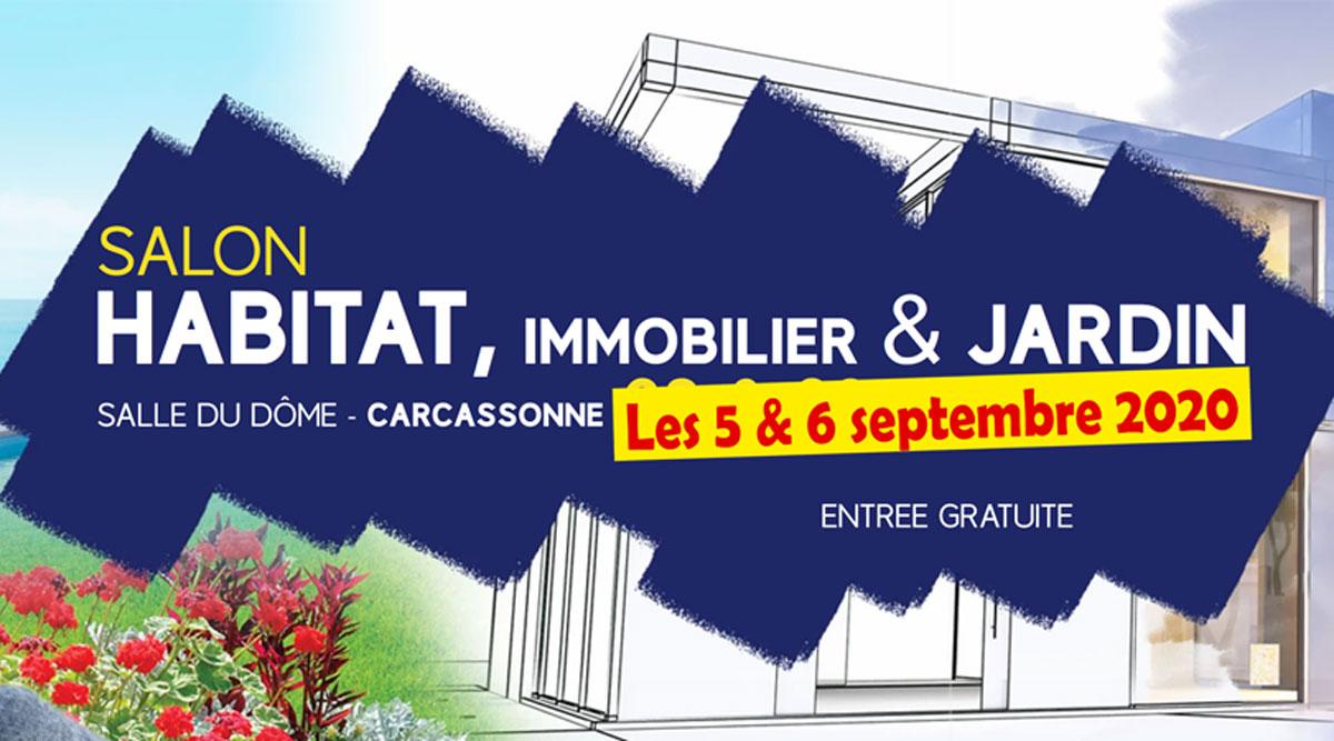 Demeures d'Occitanie au Salon de l'Habitat et Immobilier de Carcassonne