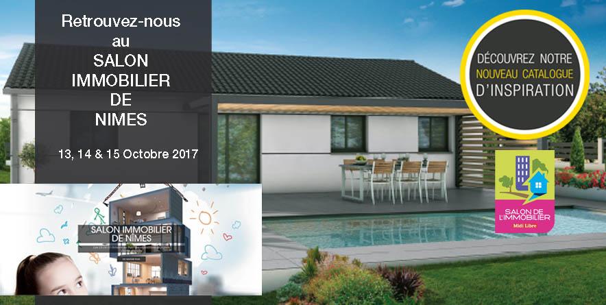 Retrouvez-nous au Salon Immobilier de Nimes du 13 au 15 Oct