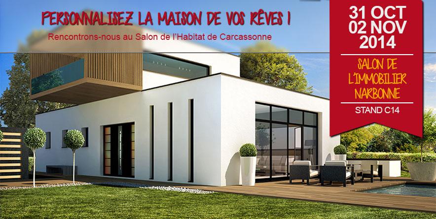 Demeures d'Occitanie sur le Salon de l'Habitat de Carcassonne !