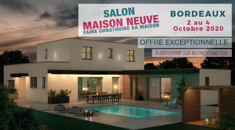 Salon de la Maison Neuve de Bordeaux, du 02 au 04 octobre 2020