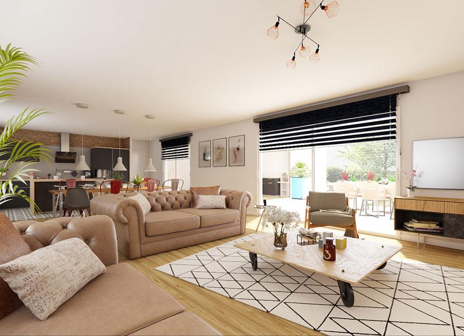 Le style déco\' Industriel - Demeures d\'Occitanie Constructeur maison ...