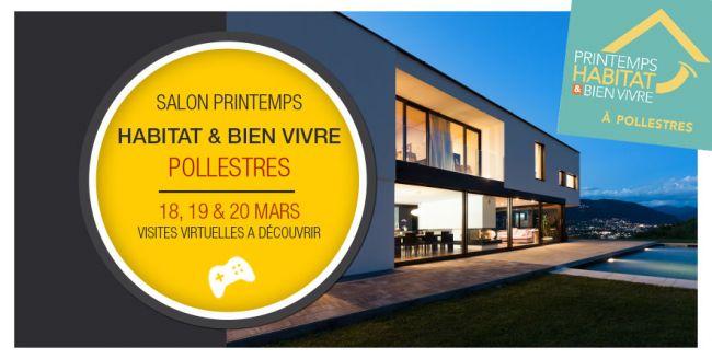 Salon du Printemps Habitat & Bien Vivre à Pollestres pour Demeures d'Occitanie