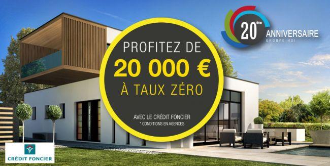 20 000 € supplémentaires à taux zéro pour les 20 ans du Groupe HDI