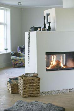 Faire de votre coin cheminée   un espace d'intimité et de convivialité