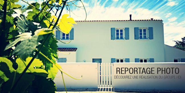 Reportage photo d'une belle résidence de vacances // Groupe HDI