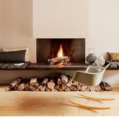 Faire de votre coin cheminée | un espace d'intimité et de convivialité