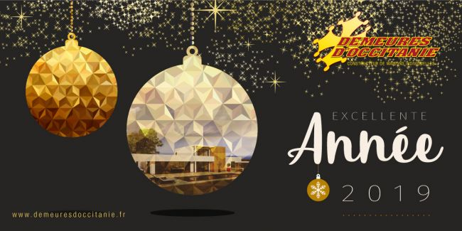 Meilleurs Vœux pour cette année 2019