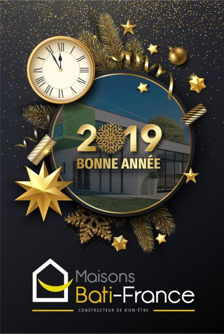 Bonne année 2019 à toutes et à tous.