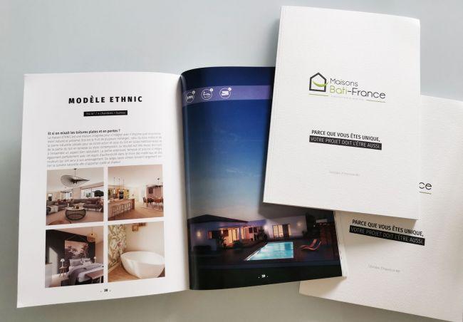 Nouveau : Le catalogue d'inspiration Maisons Bati-France est disponible en agences !
