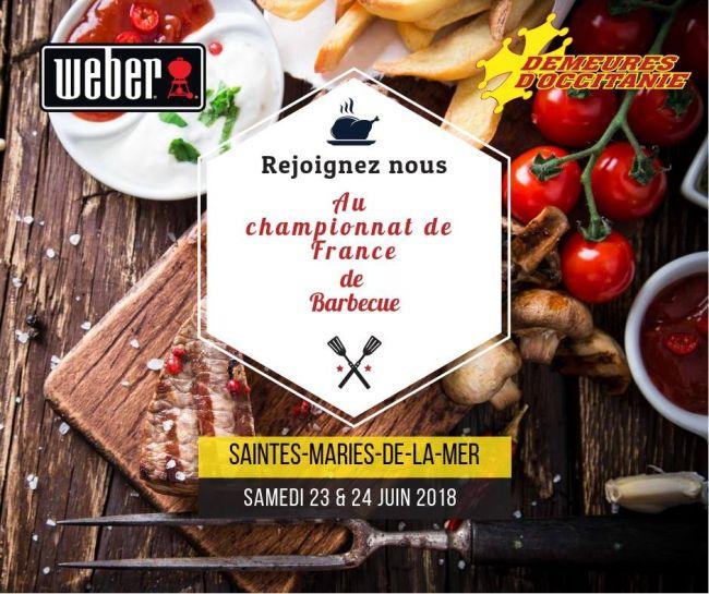 Nous participons au championnat de France de BBQ