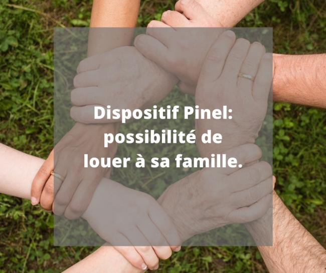 Faire construire pour louer à sa famille en profitant du Pinel ?