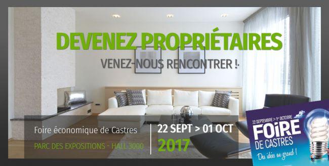 Maisons Bati France à la Foire Eco de Castres ! Du 22 sept au 01 oct.