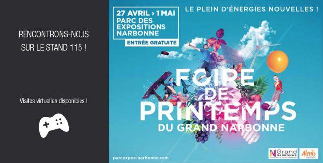 Votre projet de construction à la Foire du Grand Narbonne avec Demeures d'Occitanie