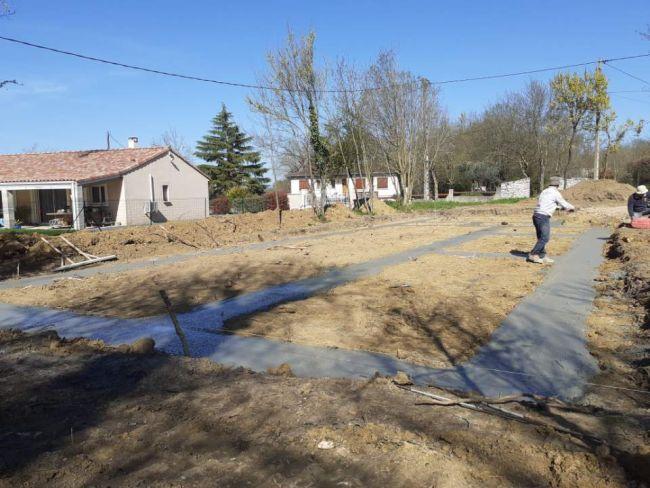 Suivi de chantier : les fondations