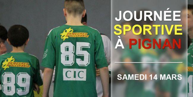 Journées sportives PHB de Pignan ! Demeures d'Occitanie, sponsor officiel !