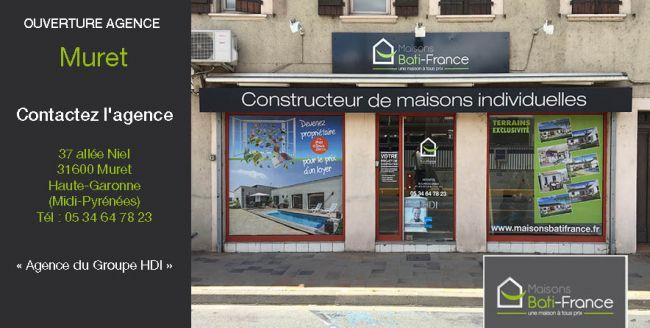 Nouvelle Agence Maisons Bâti France à Muret