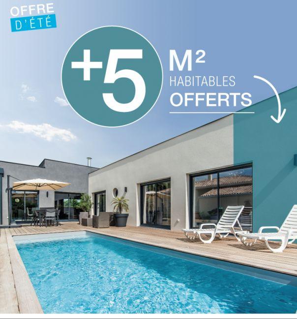 5 m² habitables offerts ! 60 jours pour en profiter !