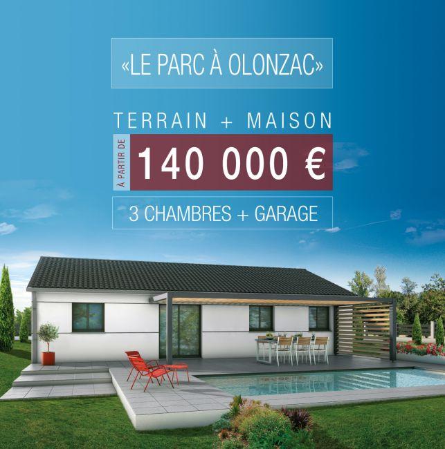 Votre maison T4 à Olonzac à partir de 140 000 €