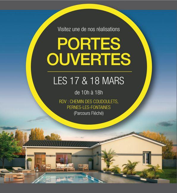 Visitez une de nos réalisations Les 17 & 18 Mars à Pernes-Les-Fontaines