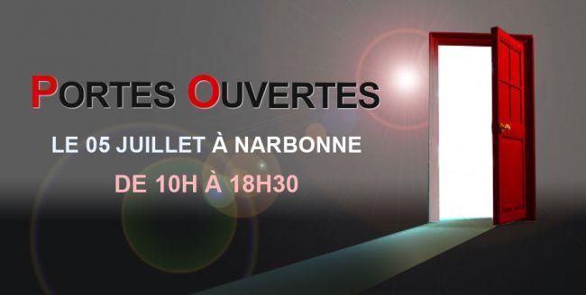 Demeures d'Occitanie vous ouvre ses portes le 05 juillet à l'agence de Narbonne