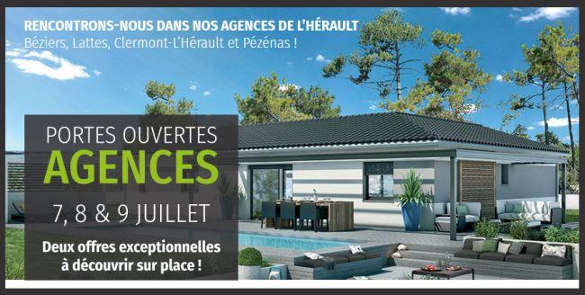 Maisons Bati France ouvre ses agences de l'Hérault du 7 au 9 juillet !