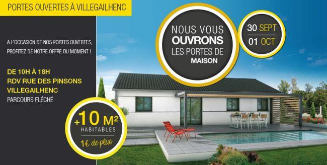 Portes ouvertes à Villegailhenc - Demeures d'Occitanie