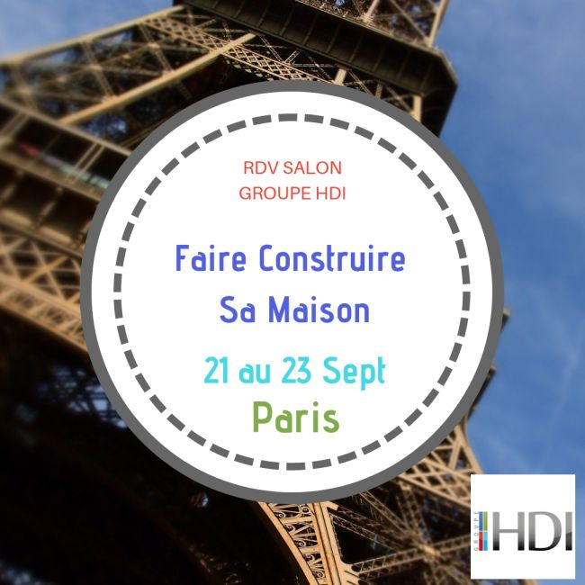 Groupe HDI au Salon Faire Construire Sa Maison de Paris