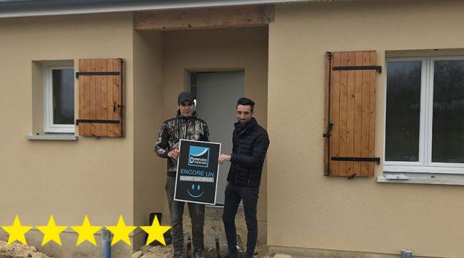 Encore un client satisfait par sa construction à St-Genes-de-Fronsac