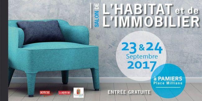 Demeures d'Occitanie au Salon de l'Habitat et de l'Immobilier de Pamiers