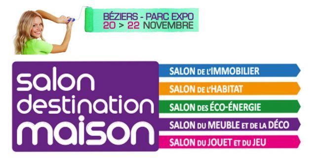 Demeures d'Occitanie au Salon Destination Maison à Béziers