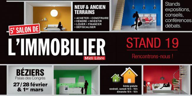 Demeures d'Occitanie au Salon de l'Immobilier de Béziers