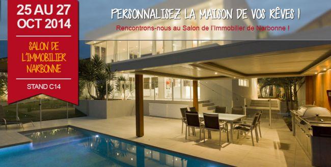 Demeures d'Occitanie au Salon de l'Immobilier de Narbonne