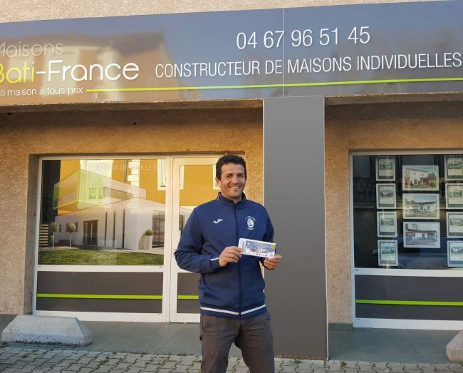 « Maisons Bati France, Sponsors de la Clermontaise !