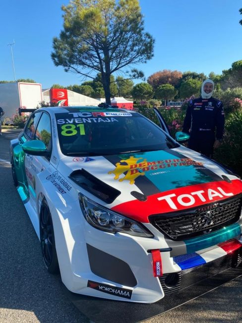 Demeures d'Occitanie sponsor de la 308 Racing Cup