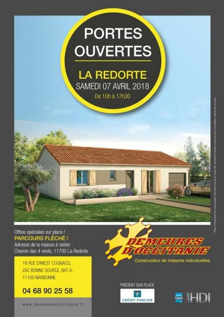 L'agence de Narbonne vous invite à une journée Portes ouvertes le 7 Avril