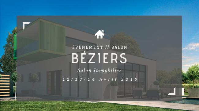 Retrouvez-nous au Salon de L'immobilier de Béziers