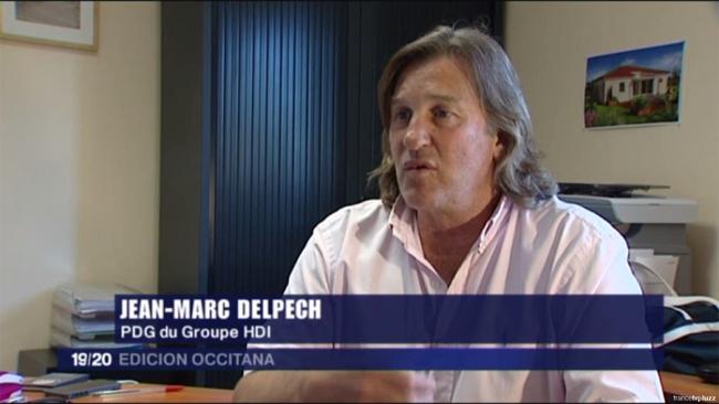 Jean Marc Delpech, PDG du Groupe HDI sur France 3