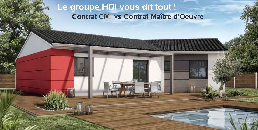 Avantages du contrat cmi versus contrat ma trise d uvre for Tarif constructeur maison individuelle
