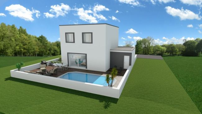 EXCLUSIVITE VILLA CONTEMPORAINE GARAGE FRAIS DE NOTAIRES REDUITS MEZE 34140