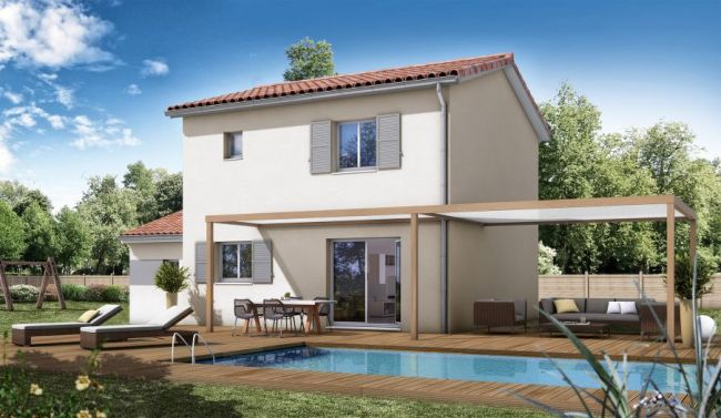 construction moderne Saint-Cyprien 66750