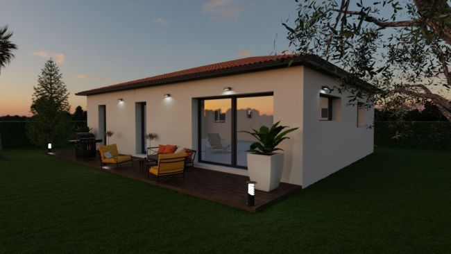 VILLA T4 contemporaine