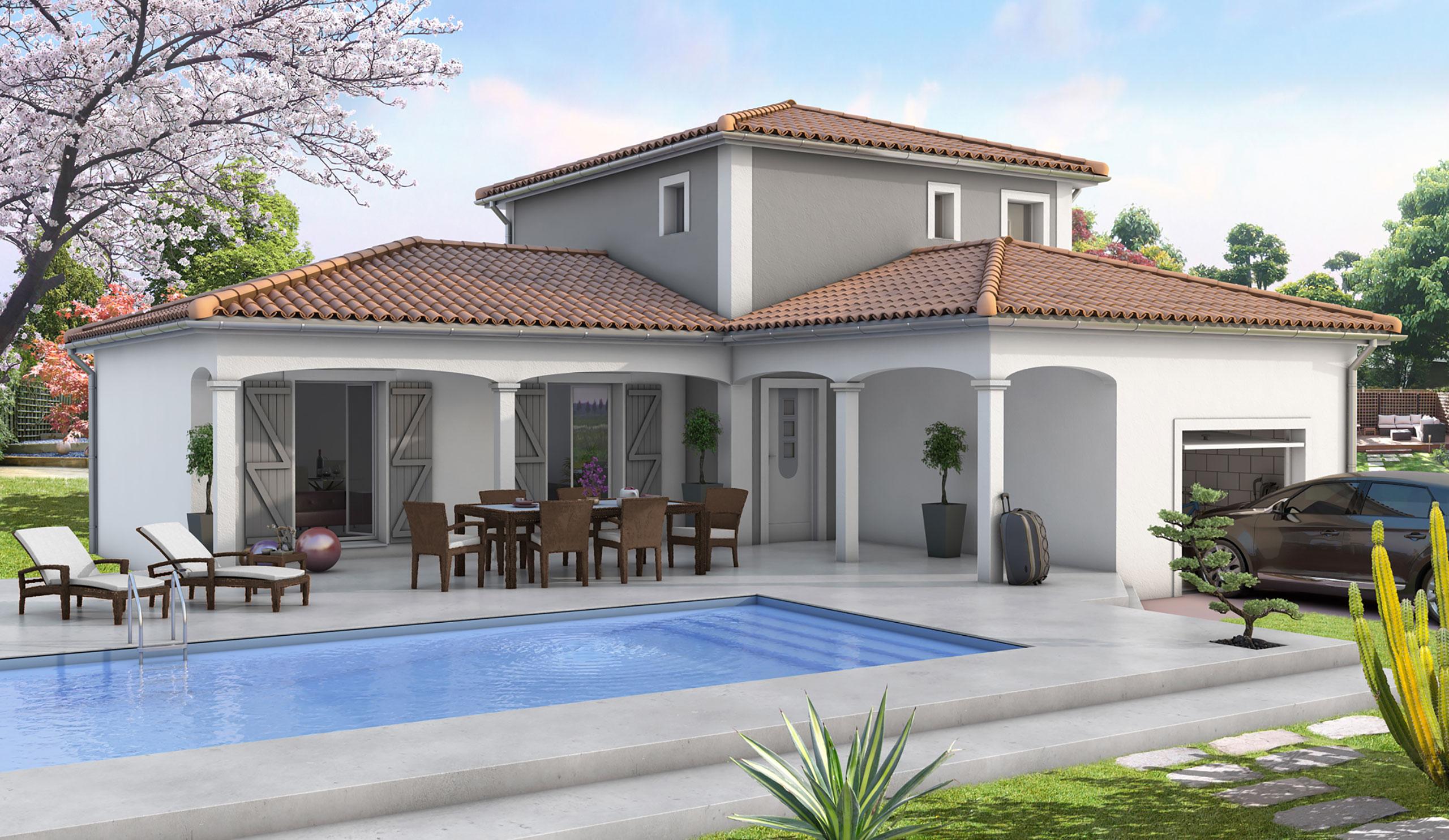 Ancien Modele Maison Contemporaine Charme Demeures D Occitanie Constructeur Maison Neuve Occitanie Region Sud