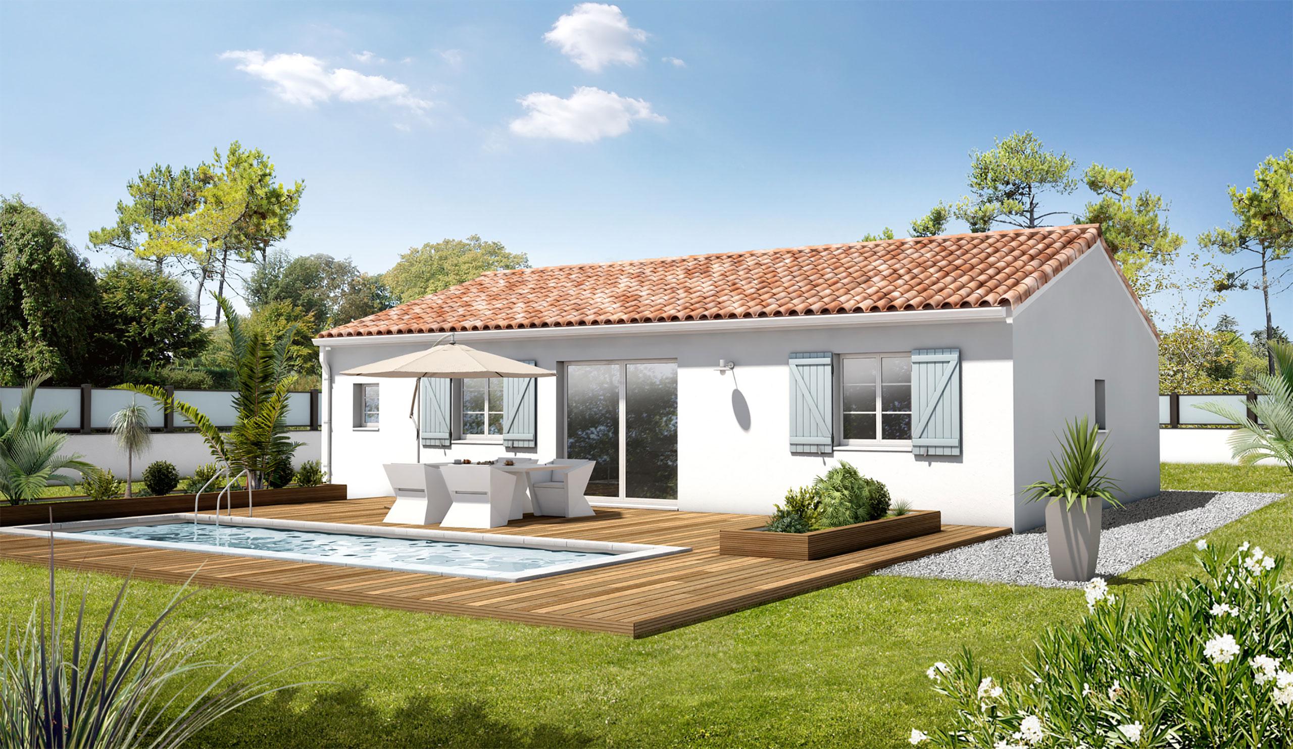 Ancien Modele Maison Traditionnelle Premium Plain Pied Demeures D Occitanie Constructeur Maison Neuve Occitanie Region Sud