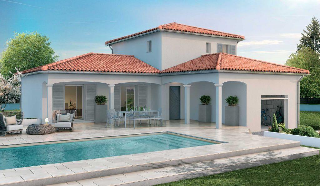 Modele Maison Etage Avec Plan Plans Modeles Demeures D Occitanie Constructeur Maisons Individuelles Occitanie Region Sud