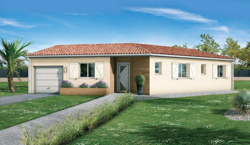 Modele Maison Plain Pied Avec Plan Plans Modeles Demeures D Occitanie Constructeur Maisons Individuelles Occitanie Region Sud