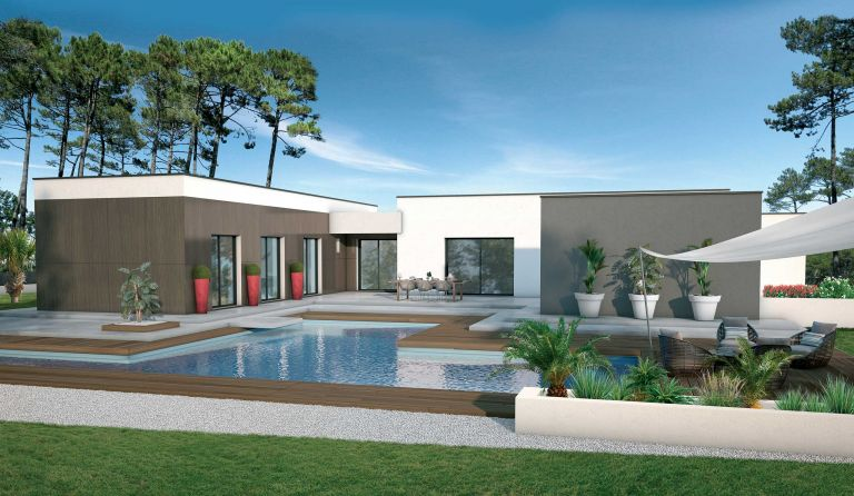 Villa contemporaine 151 m²  à Tautavel