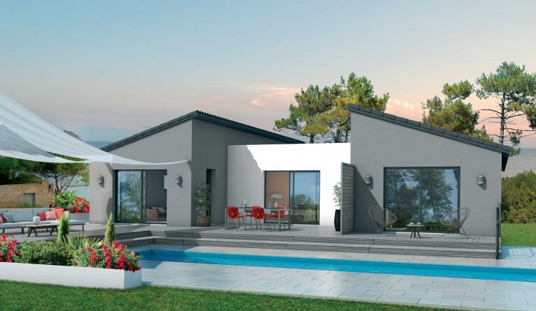 villa contemporaine Le Boulou 66160